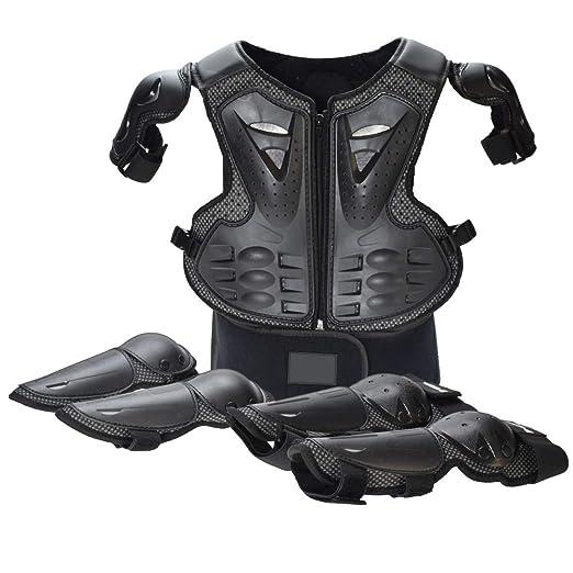 JUZZQ Equipo de protección para Motocicletas Ropa de Seguridad ...
