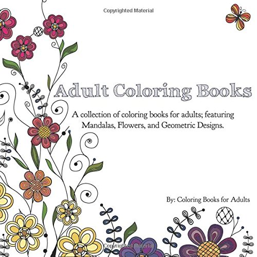 Adult Coloring Books Collection Featuring product image