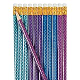 Mermaid Pencils - 24 ct by Party Supplies