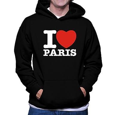 I love Paris Hoodie bQnt8Yoa
