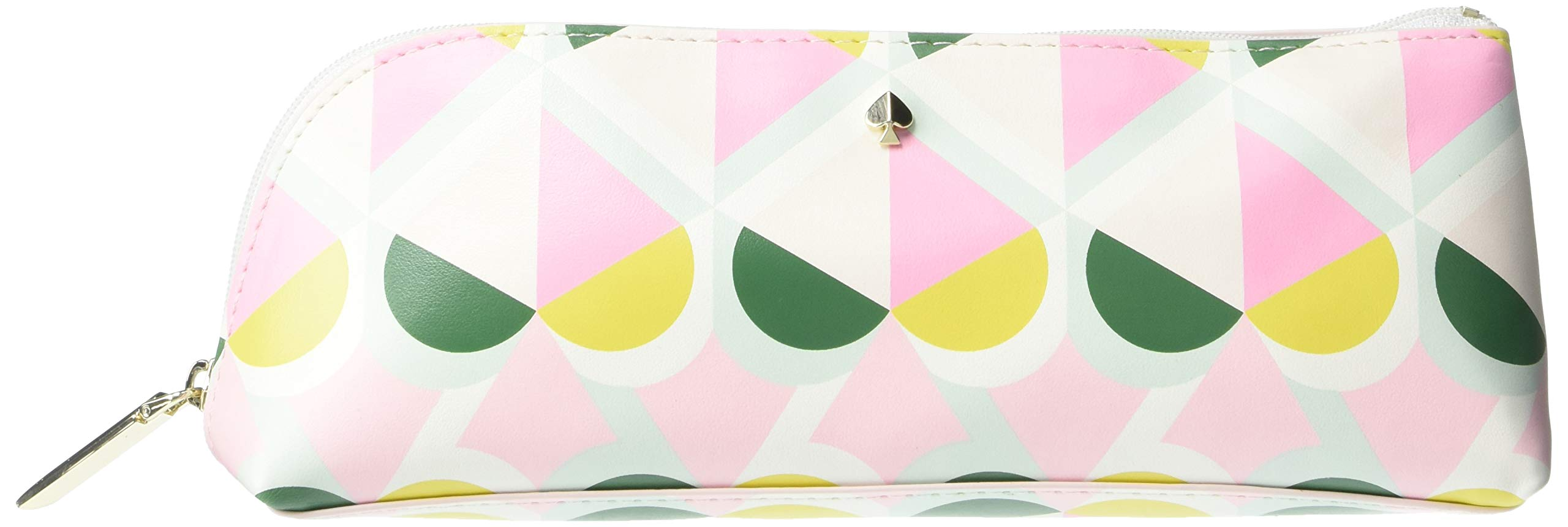 Kate Spade New York Pencil Case Including 2 Pencils, Sharpener, Eraser, and Ruler School Supplies (Geo Spade) by Kate Spade New York