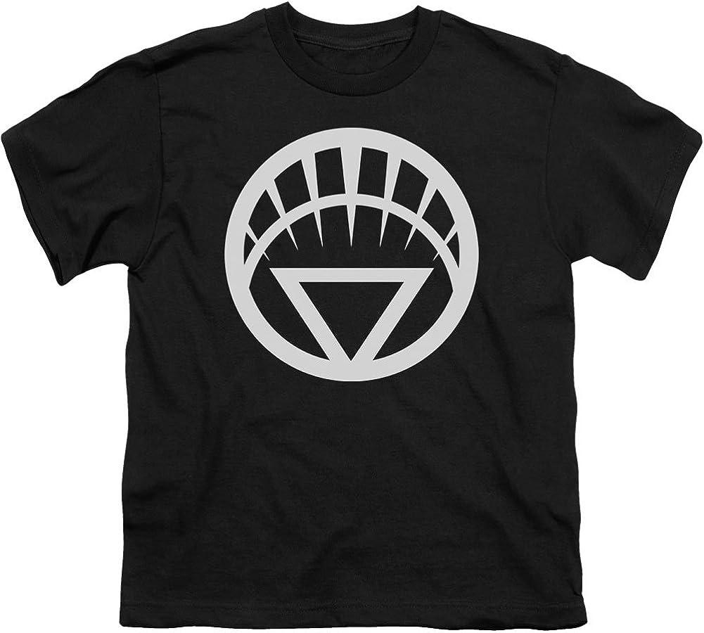 White Emblem T-Shirt Size YM Youth Green Lantern
