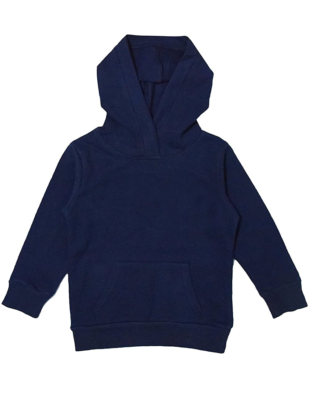 Spring& Gege Youth Solid Classic Hoodies Soft Hooded Sweatshirts for Children