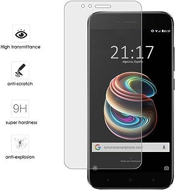 Tumundosmartphone Protector Cristal Templado para XIAOMI MI 5X ...