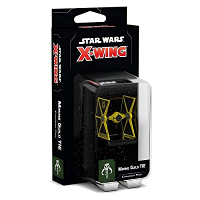 Fantasy Flight Games Star Wars X-Wing: 2nd Edition - Mining Guild TIE Expansion Pack: Toys & Games