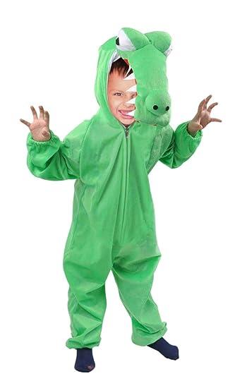 AN64 tamaño de 6-9 meses vestir traje de cocodrilo para los bebés ...