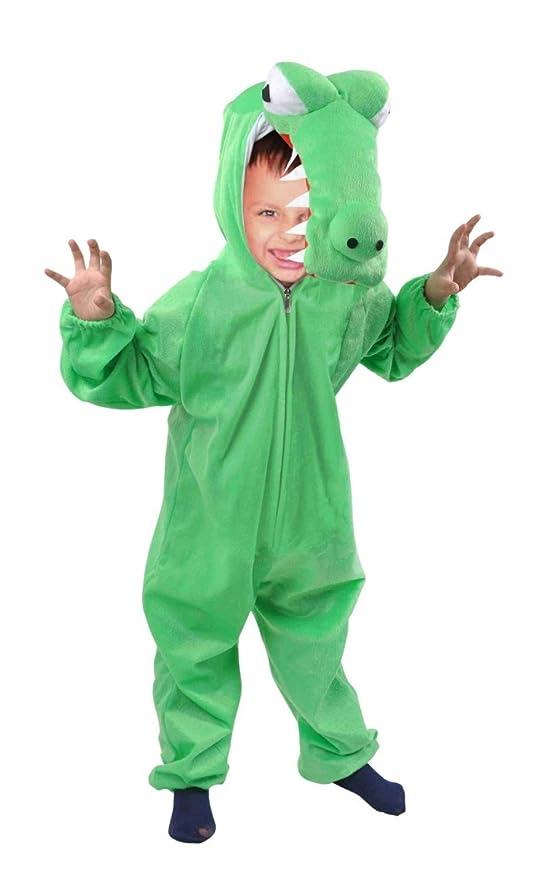 43ec6fedd AN64 el tamaño a usar 3-4 años traje del cocodrilo para bebés y niños