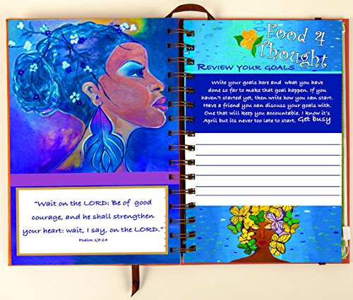 Shades of Color 5.38 by 8.38 Inches 2015 Weekly Inspirational Planner (IP02) Photo #5