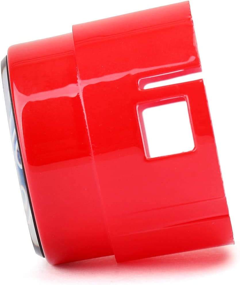 Bruce /& Shark Red Start Stop Engine Push Button Switch Cover Crystal for B-M-W F Chassis F30 F10