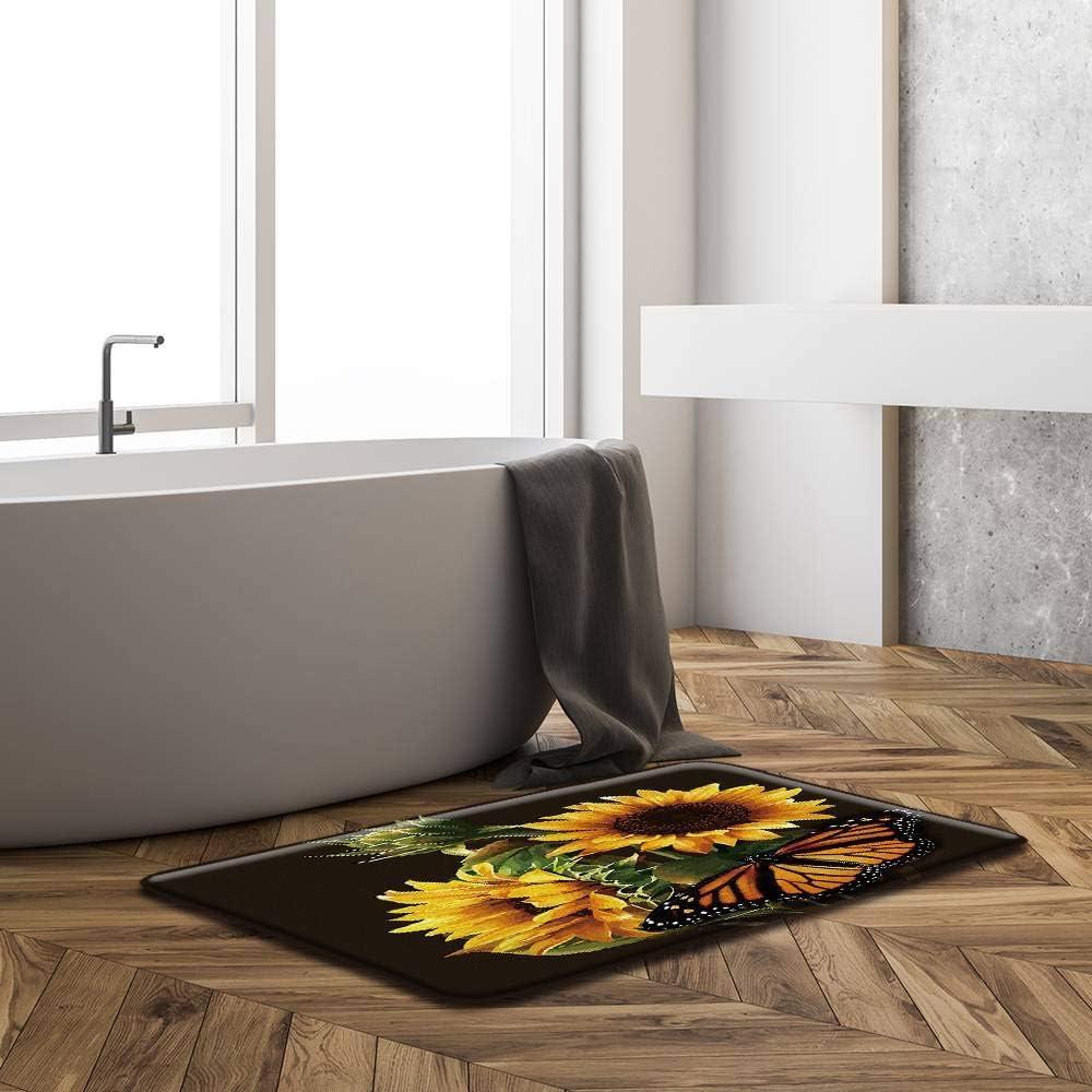 Details about  /Sunflower Under Sunlight Nature Scenery Rug Carpet Bedroom Bathroom Mat Doormat
