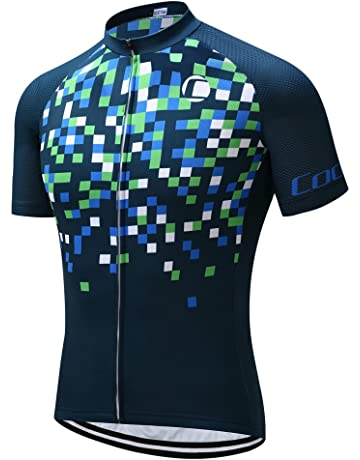 36bf2b13d Coconut Ropamo Mens Cycling Jersey Road Bike Shirt Short Sleeve Biking  Jersey Breathable 100% Polyester