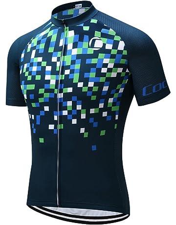 8feb3bc34494b2 Coconut Ropamo Mens Cycling Jersey Road Bike Shirt Short Sleeve Biking  Jersey Breathable 100% Polyester