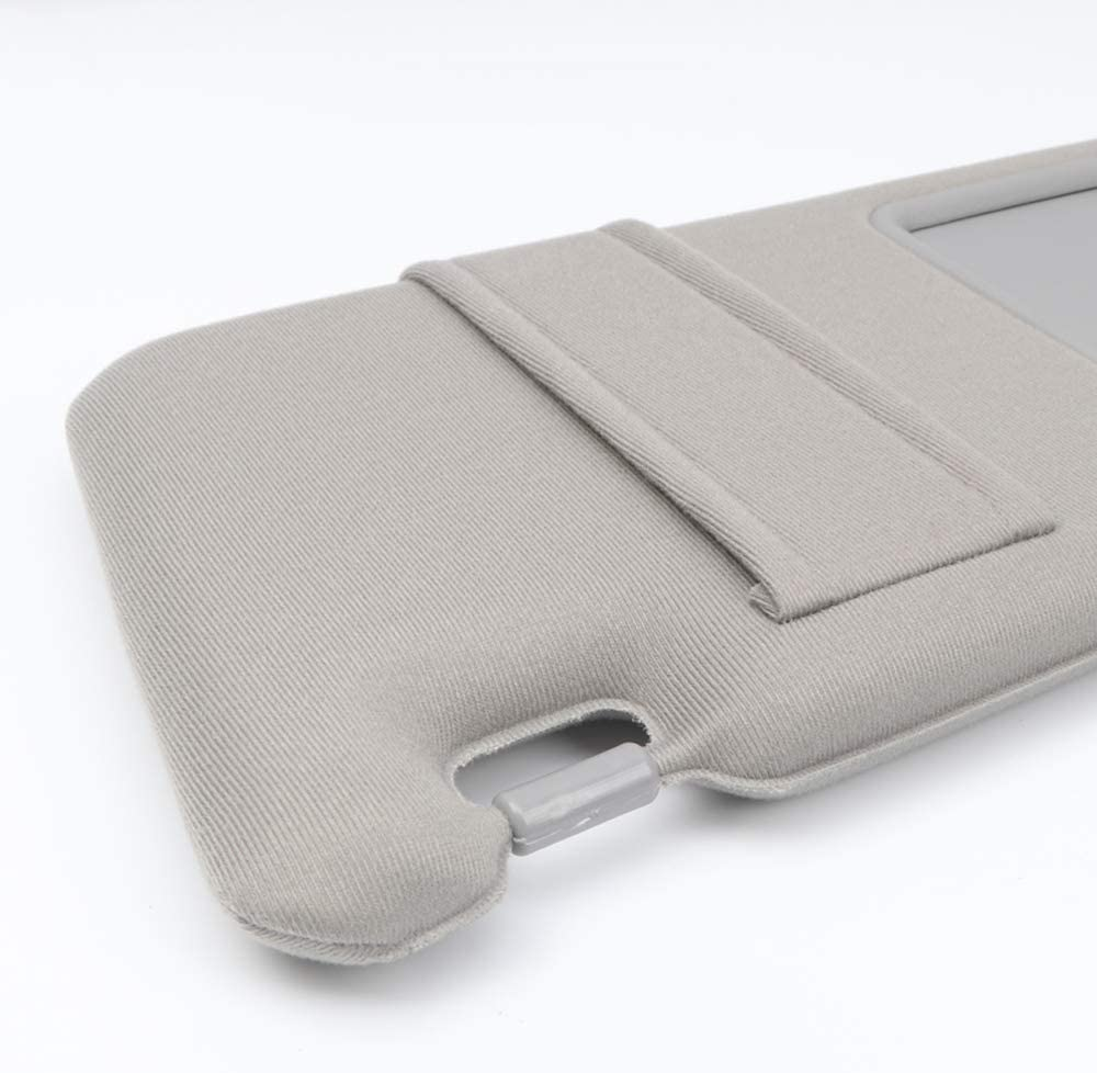 HIGH FLYING for Toyota Camry 2007 2008 2009 2010 2011 Side Sun Visor Assembly Sun Protection with Sunroof Gray XV40 Left//Driver Side with Sunroof 1pc