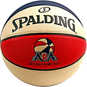 """Spalding ABA Official Game Basketball - Official Size 7 (29.5"""")"""