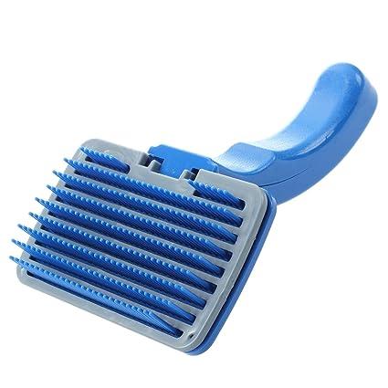 SODIAL(R) Perro gato cepillo plastico nuevo para quitar de pelo