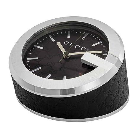 Amazon.com: Gucci fabricado en Suiza logo reloj de mesa con ...
