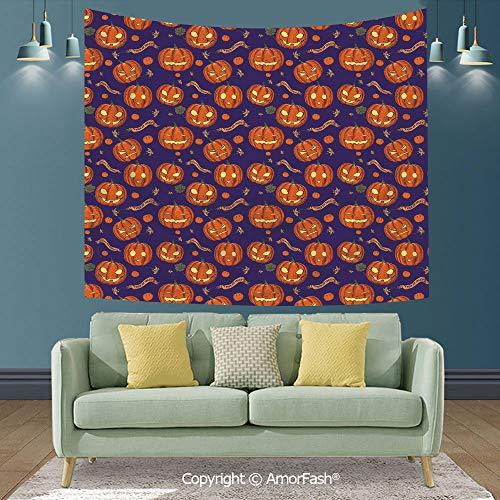 Halloween Background Wall Decoration of Hall,Tapestry Wall Hanging Throw,90
