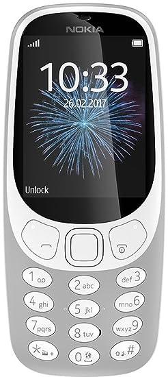 Nokia 3310  Grey  Basic Mobiles