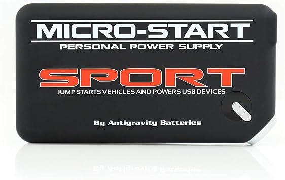 Amazon.com: Antigravity Batteries MICRO START SPORT BLACK Battery ...