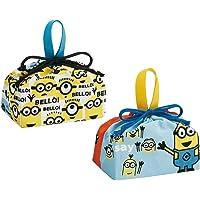 Skater斯凯达 午餐巾服 儿童用 便当 荷包袋 迷你 2件装 日本制造 KB7 29×16.5×12cm KB7W