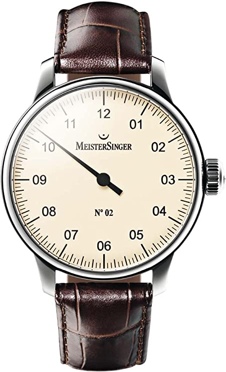 MeisterSinger Mens Watch N02 AM6603: Amazon.co.uk: Watches