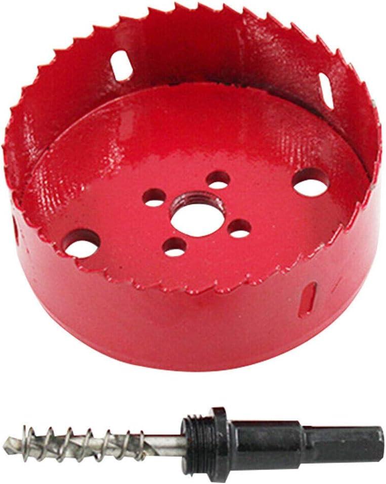 Jerilla 220mm M42 HSS Bimetall Lochs/äge Bim komplett mit Sechskant-Schaft und Zentrierbohrer