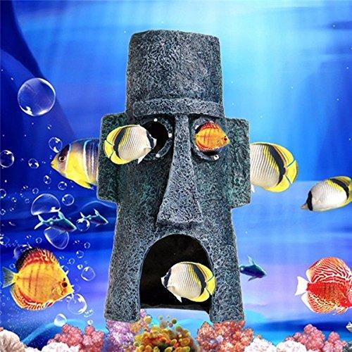 Aquarium Landscaping Decoration Aquatic Animals House Home Fish Tank Ornament