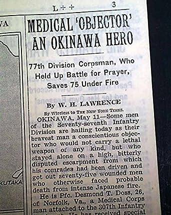okinawa newspaper of Battle