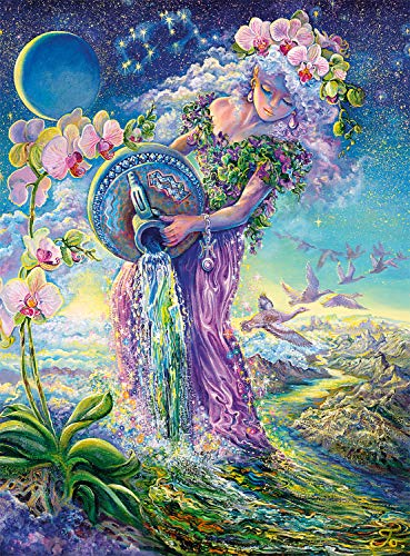 Buffalo Games - Josephine Wall - Aquarius (Glitter Edition) - 1000 Piece Jigsaw Puzzle