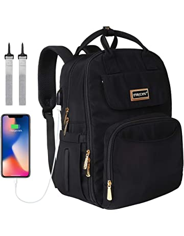 4dae80377a Changing Bag Backpack - Baby Diaper Bags Travel Back Pack Nappy with  Changing Mat USB Charging