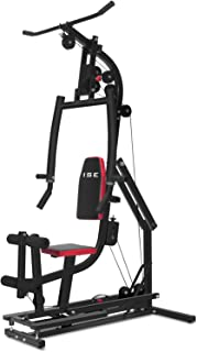 ISE Station de Musculation Multifonction Station Fitness Entrainement Complète Permettant Exercices Divers SY4004