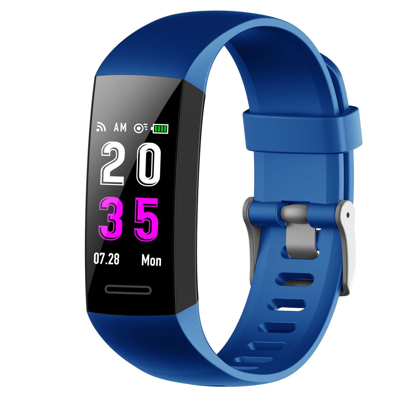 Pulsera Actividad Inteligente,Feob Reloj Inteligente Podómetro Hombre Mujer con Pulsómetro y Presión Arterial GPS Smartwatch Impermeable IP67 Pulsera ...
