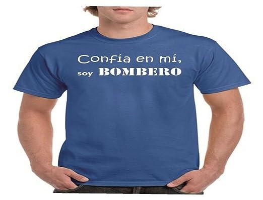 Camisetas divertidas Parent confia EN mi, Soy Bombero - para ...