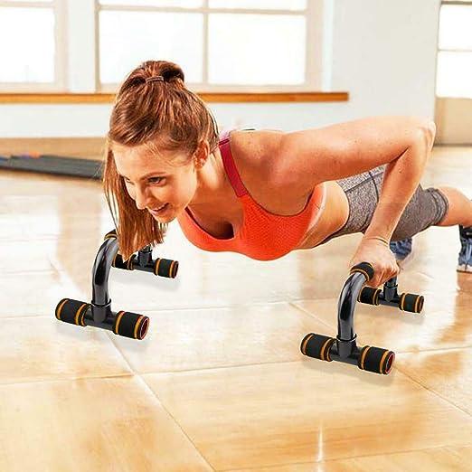 FOOING Soporte para Flexiones Push Up Bars Stand - Barras para Flexiones Gimnasio Ejercicio Formación - para Ejercicios, Gimnasio Equipo de ...