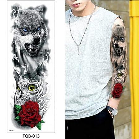 Handaxian 3pcs Tatuaje Tatuaje de Calavera de Muerte Impermeable ...