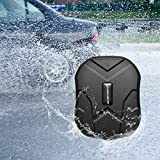 GPS Tracker,Anti-Lost Waterproof GPS Tracker, Magnet GPS Car Tracke,90 Days Standby GSM/GPRS Real Time Tracking Device Locator Cars SUVs Motorcycles Trucks Vehicles