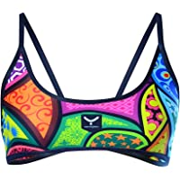 TAYMORY Patches Sw35d Top Bikini, Mujer