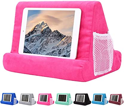 Desk Floor iPad Pillow Holder for Lap Tablet Pillow Holder Reading in Bed Knee Sofa Universal Phone /& iPad Pillow Holder Stand for Lap