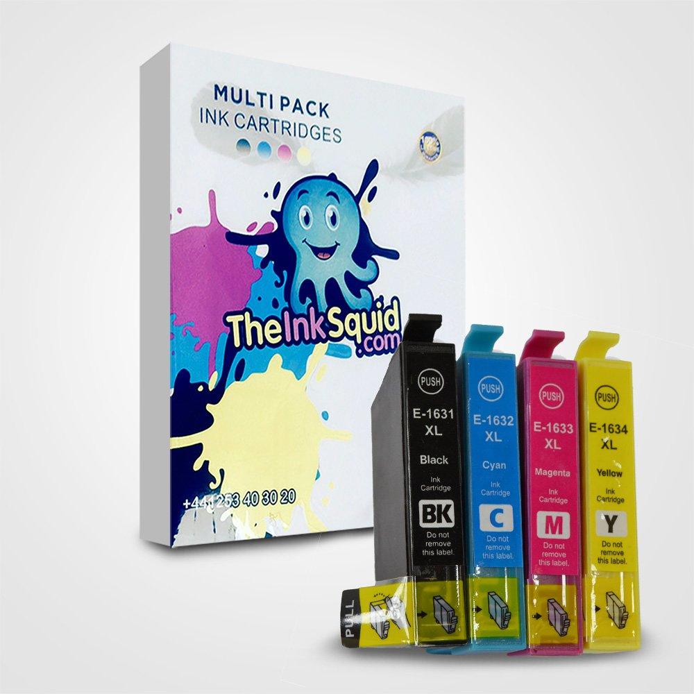 La tinta calamar T16 XL Pen/crucigrama T1631 - 4 Compatible ...