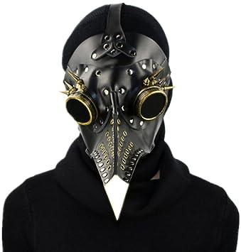 Qiu - Máscara de Madera de Haya, para Hombre y Mujer, Diseño de Vaquero