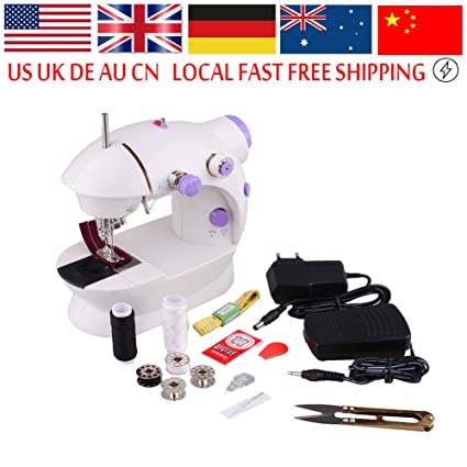 ERTIANANG Portable Household Teaching Handmade Sewing Matching Tools Maquina Coser Overlock Desktop Mini Electric Sewing Machine