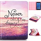 "Universal 8inch Tablet Case,8.0""Tablet Case,Lenovo 8 inch Tablet Case,Lenovo TAB3 8 Case,Lenovo Tab 8 inch Case,Lenovo Tab 3 8.0 Case,Premium PU Leather Stand Cover for Lenovo TAB3 8 inch Tablet"