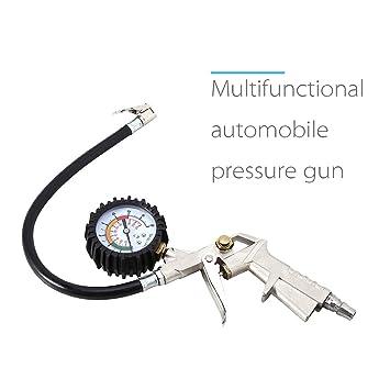 Neumáticos Manómetro multifuncional Automotive Cuchillo de ...