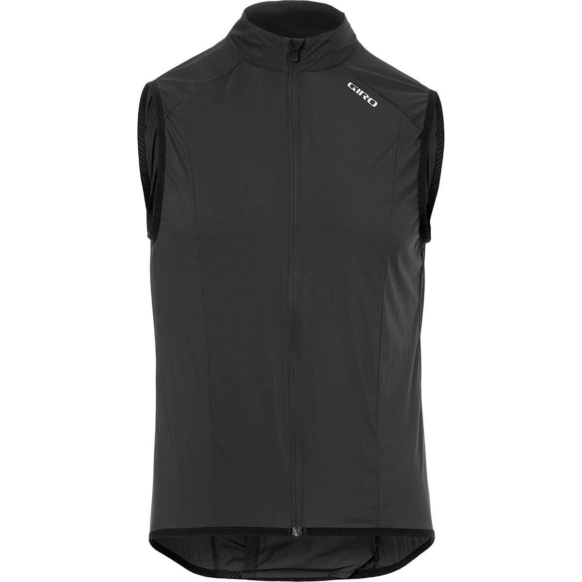 Giro Chrono Expert Reflective Wind Vest - Men's Electric Black Reflective Digi, M