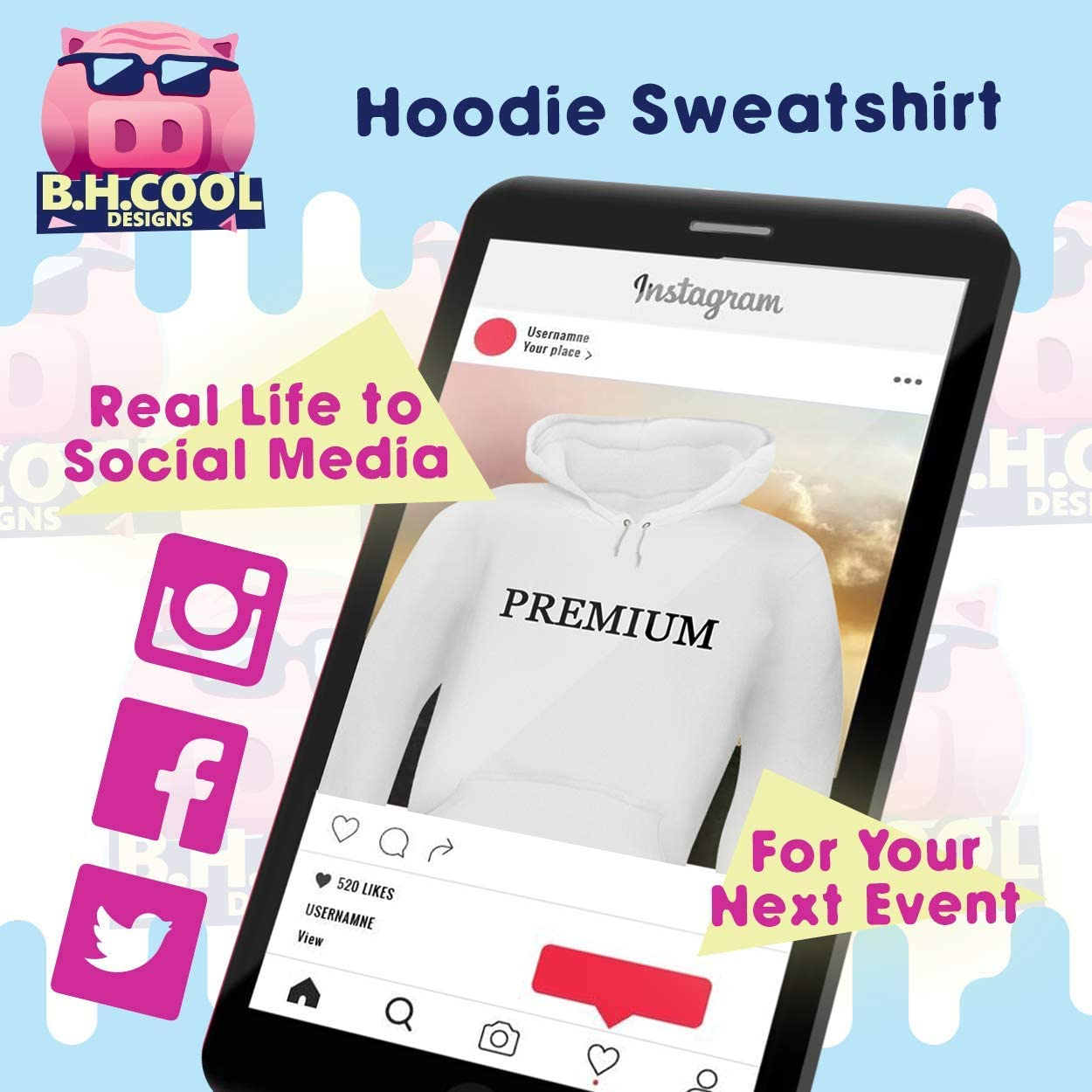 #cesarism - Men\'s Hashtag Soft & Comfortable Hoodie Sweatshirt Pullover 51qowlRh5AL