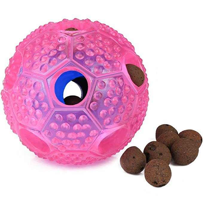 Amazon.com: Juguete interactivo para perro Wangou, pelota de ...