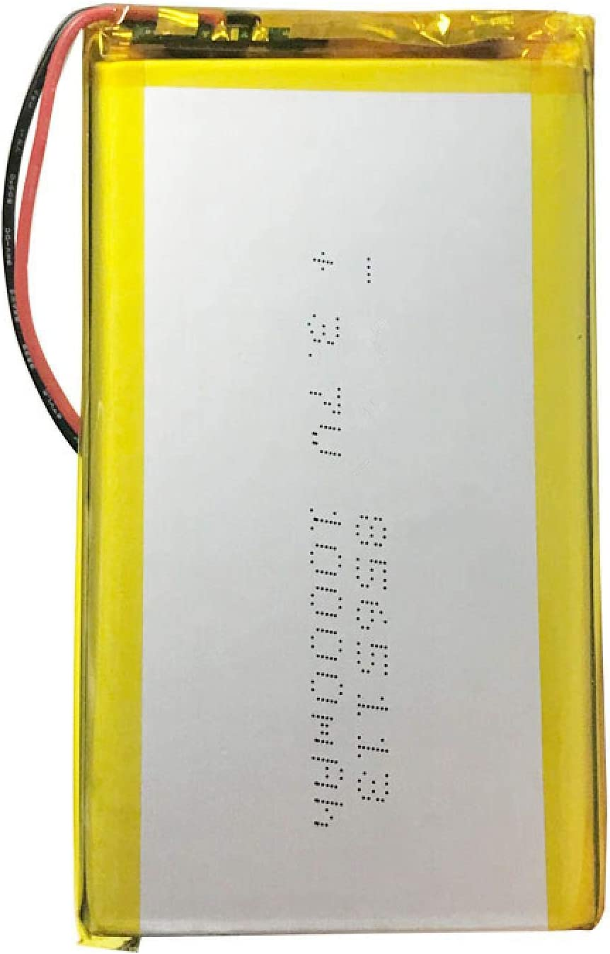 Grehod 3,7 V 10000 mAh 8565113 Lithium-Li-Polymer-Akku Li-Ionen-Li-Po-Zellen f/ür Tablet-DVD GPS-Medizinprodukt PDA E-Book