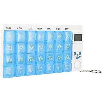 Amazon Com Med Q Digital Pill Box Dispenser With Liberty