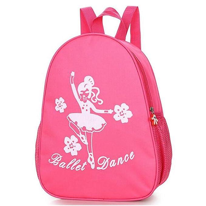 Amazon.com: Zaptex - Mochila de ballet y gimnasio para niñas ...