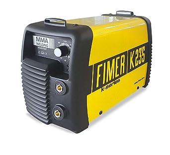 Fimer 5 K1.235.03 Kit soldador inverter MMA electrodo 180